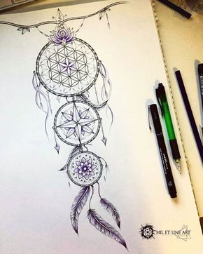 Dreamcatcher Tattoo On Ribs (8)