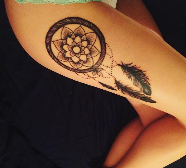 Dreamcatcher Tattoos For Female