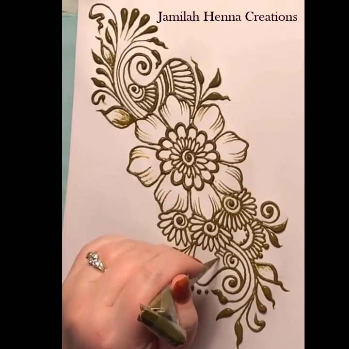 Easy Mehndi Design For Hands (1)