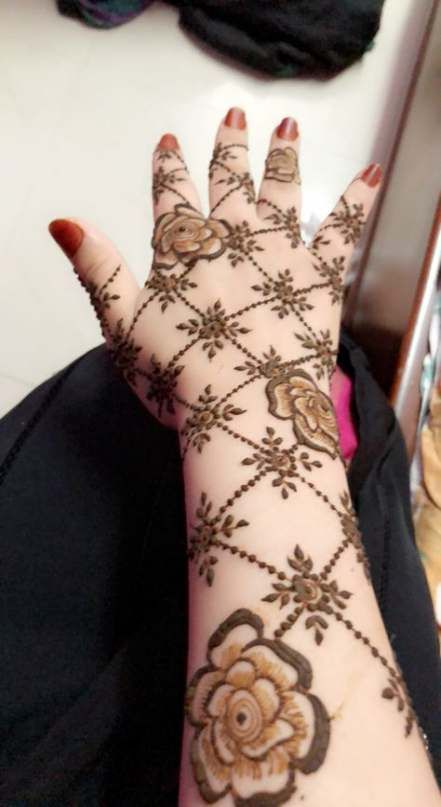 Easy Mehndi Design For Hands (3)