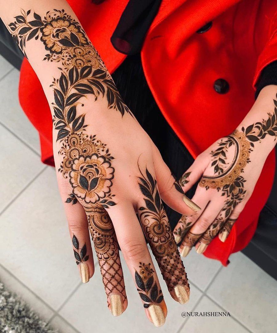Easy Mehndi Design For Hands (5)