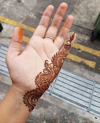 Easy Mehndi Design For Hands (6)