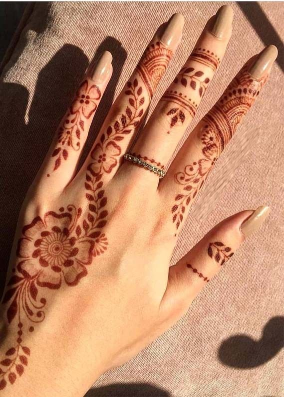 Easy Mehndi Design For Hands (8)