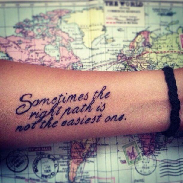 Female Quote Tattoos (2)