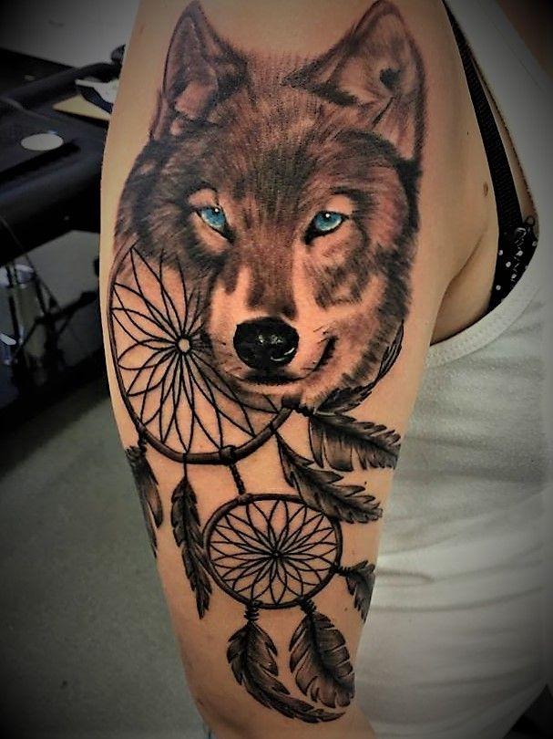 Girly Dreamcatcher Tattoo (3)