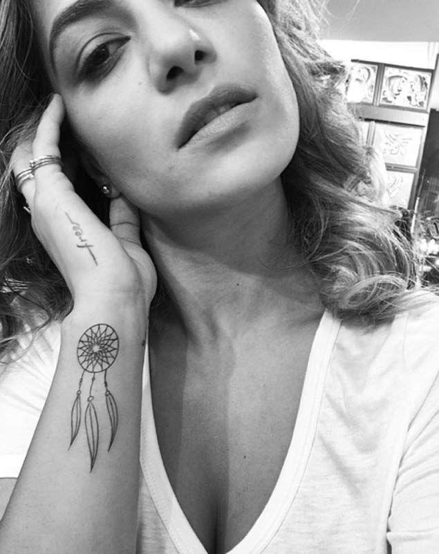 Girly Dreamcatcher Tattoo (9)