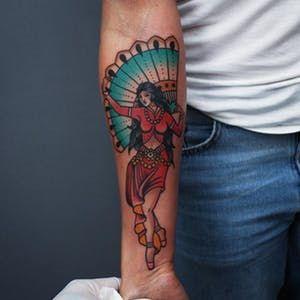 Heart Dreamcatcher Tattoo (5)