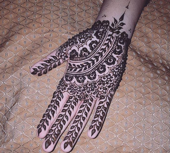 Henna Designs On Paper