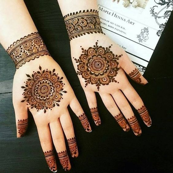 Henna Hand Designs Meanings (1)