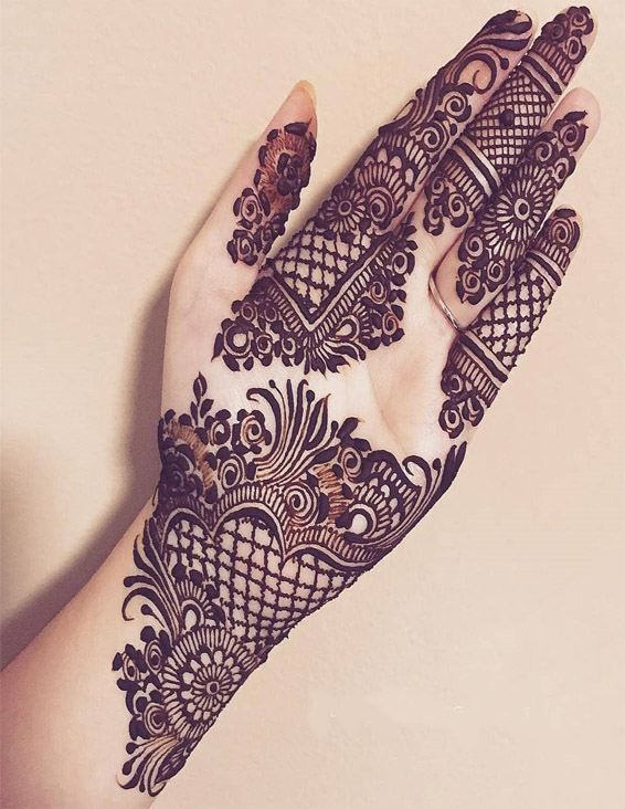 Henna Hand Designs Meanings (10)