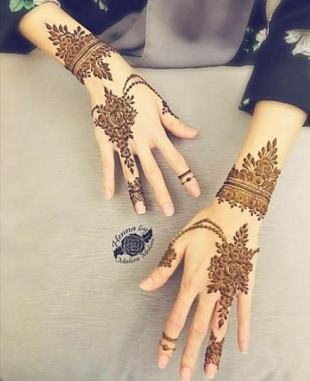 Henna Hand Designs Meanings (5)