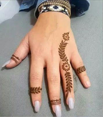 Henna Hand Designs Meanings (6)