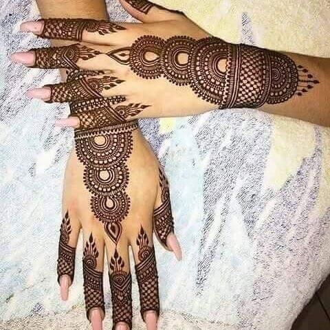 Henna Hand Designs Meanings (7)