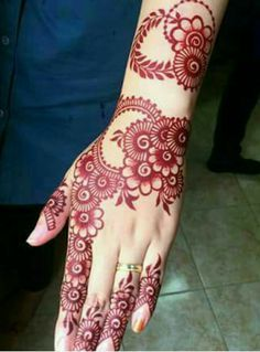 Henna Hand Designs Meanings (8)
