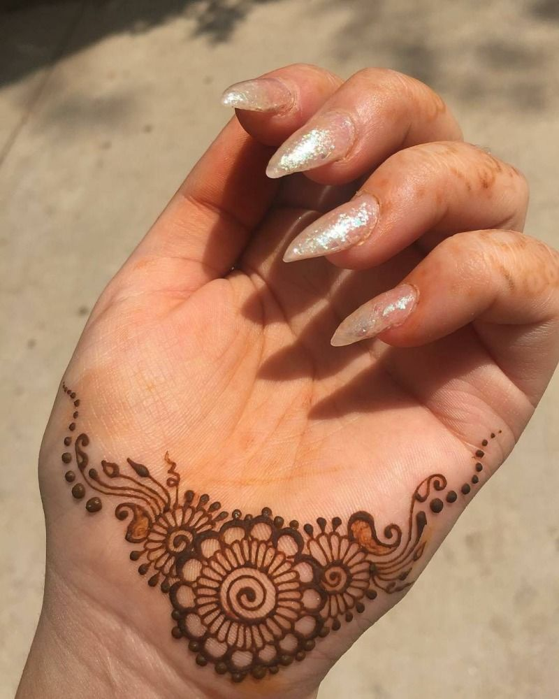 Henna Hand Designs Meanings (9)
