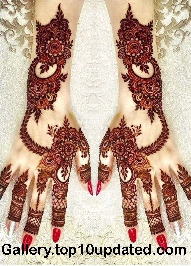 Henna Tattoo Designs And Meanings (1)