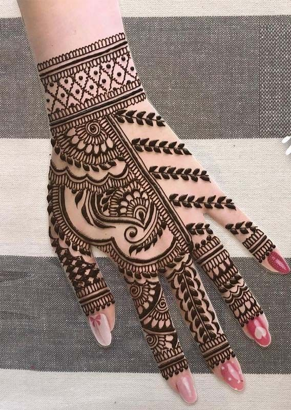 Henna Tattoo Designs And Meanings (3)
