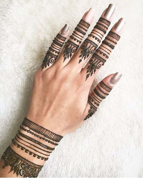 Henna Tattoo Designs And Meanings (4)