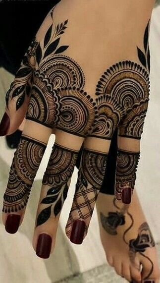 Henna Tattoo Designs And Meanings (7)