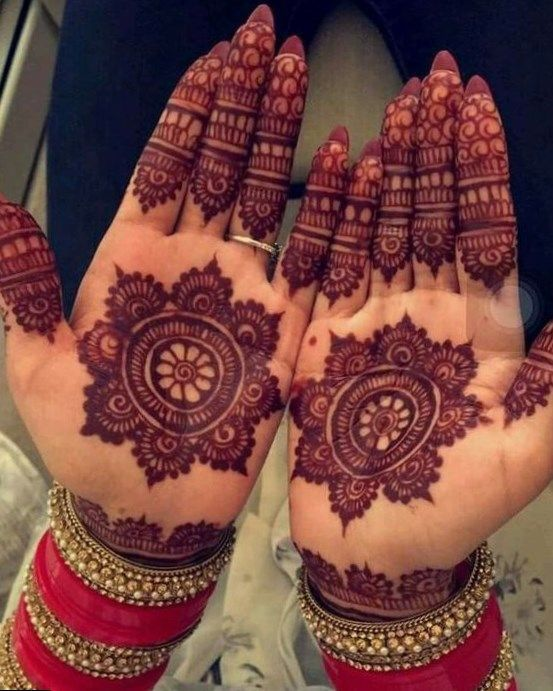 Hindu Tattoos On Hands (10)