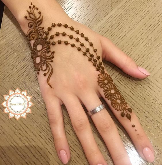 Hindu Tattoos On Hands (2)