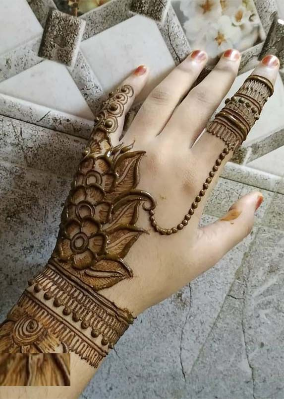Hindu Tattoos On Hands (6)
