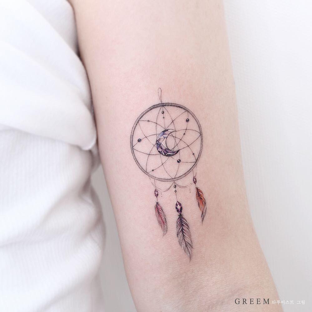 Horse Dreamcatcher Tattoo (10)