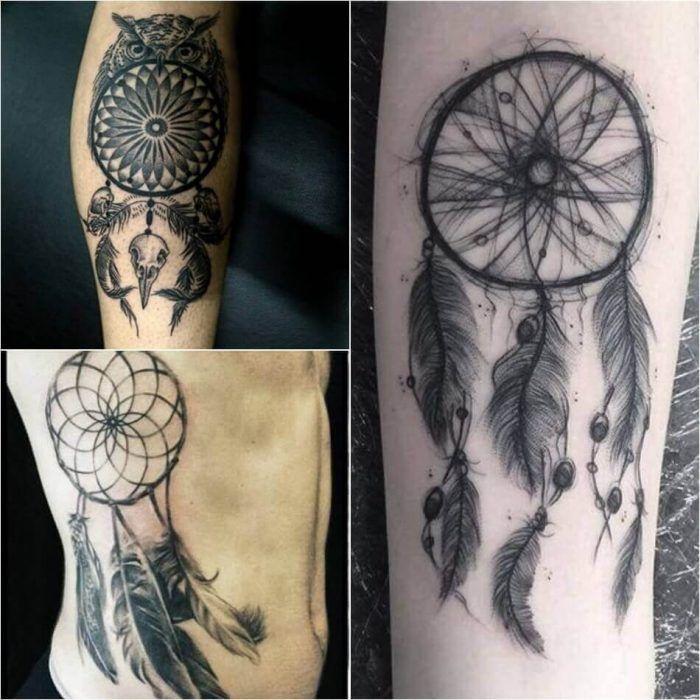 Horse Dreamcatcher Tattoo (4)