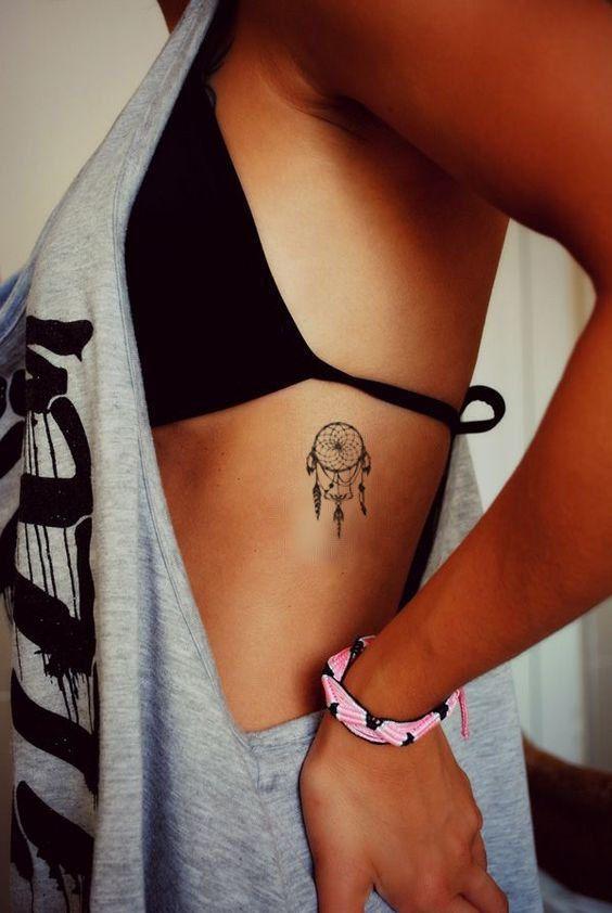 Horseshoe Dreamcatcher Tattoo (3)