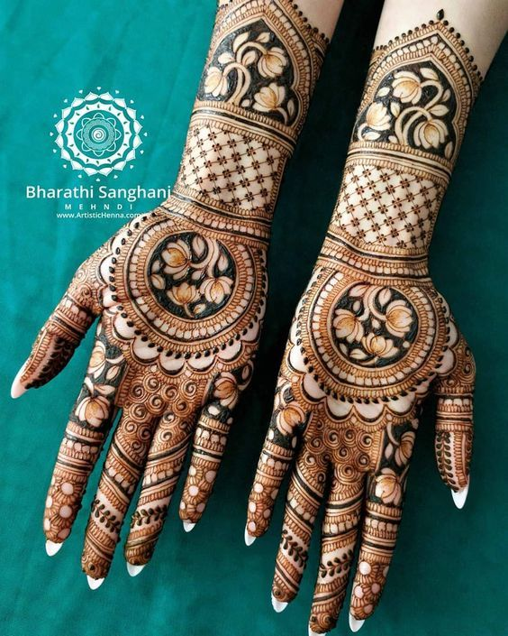 Indian Henna Tattoos Meaning (10)