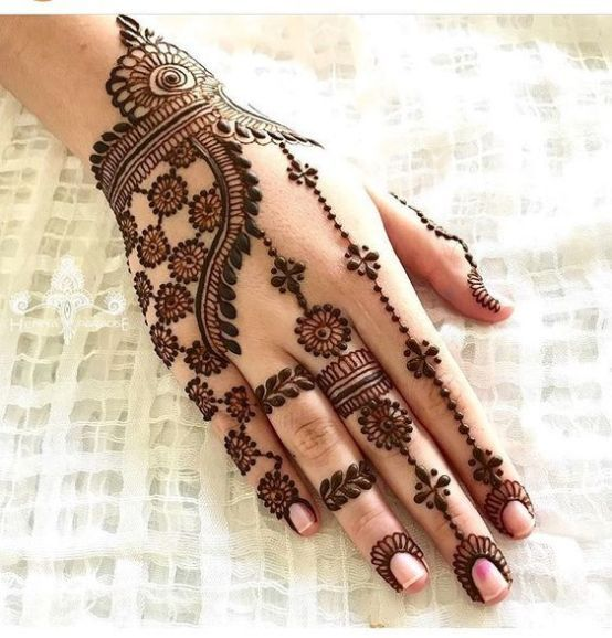 Indian Henna Tattoos Meaning (4)