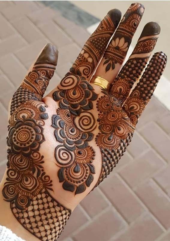 Indian Henna Tattoos Meaning (7)