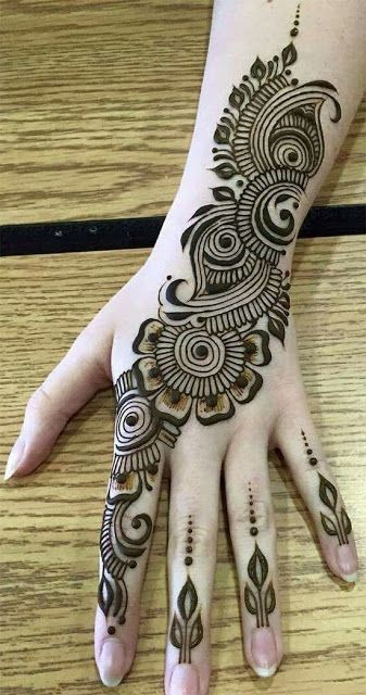 Indian Henna Tattoos Meaning (9)