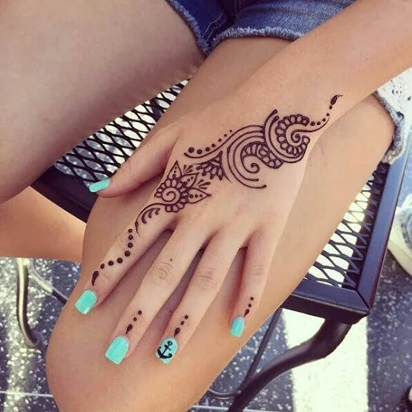 Meaning Of Henna Tattoo (1)