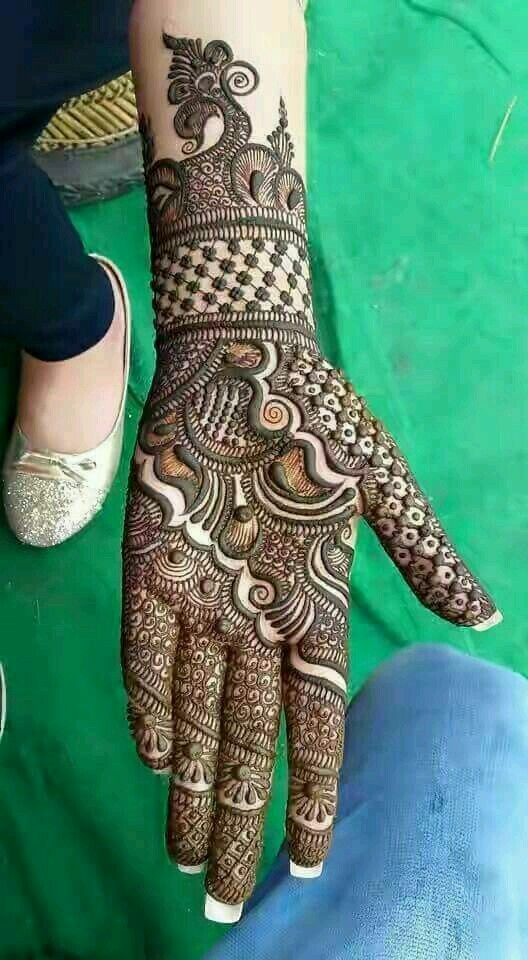 Mehndi Design Easy And Beautiful (3)