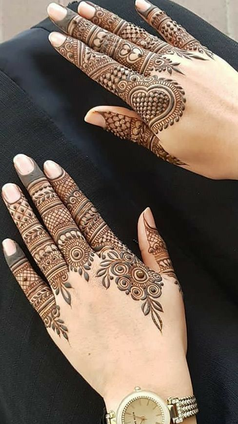 Mehndi Design Easy And Beautiful (5)