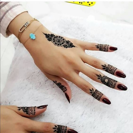 Mehndi Design Easy And Beautiful (8)