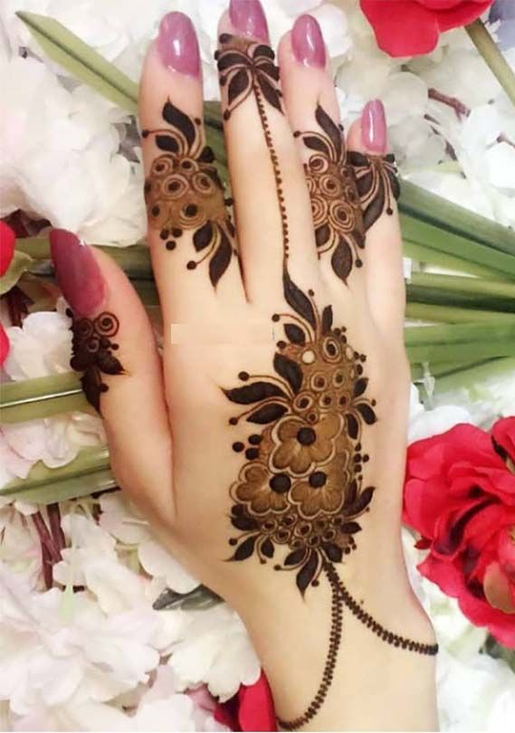 Mehndi Designs Easy And Simple (1)