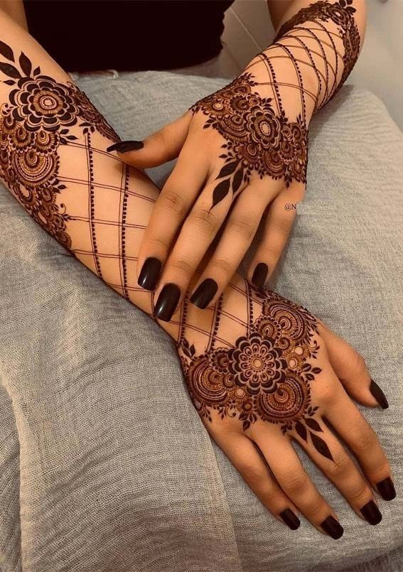 Mehndi Designs Easy And Simple (5)