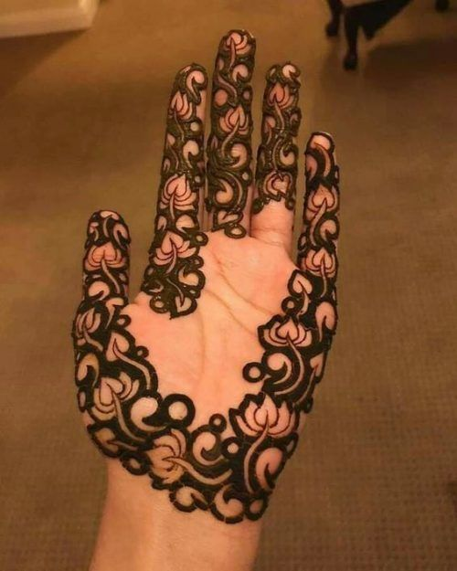 Mehndi Designs Easy And Simple (7)