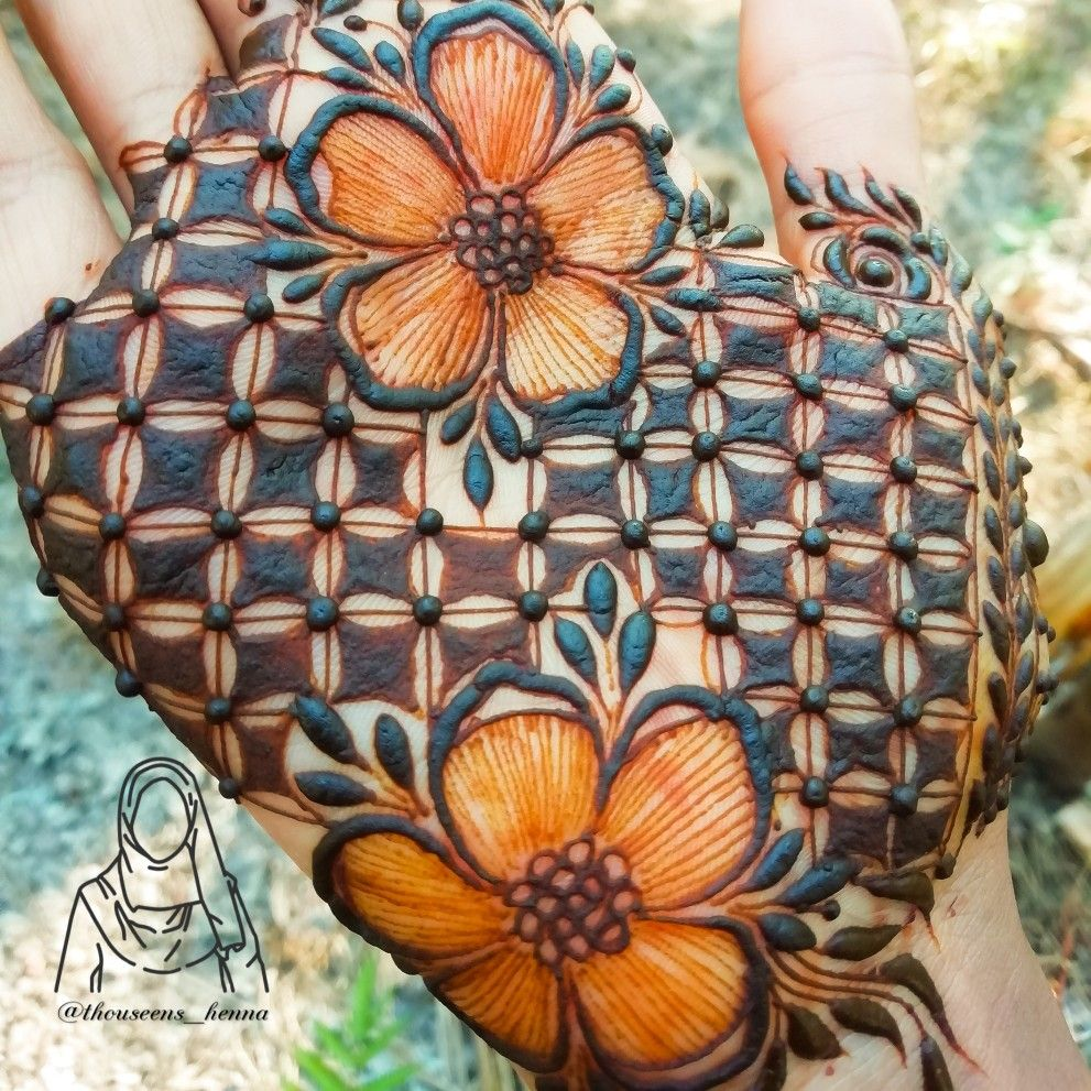 Mehndi Designs Easy And Simple (8)