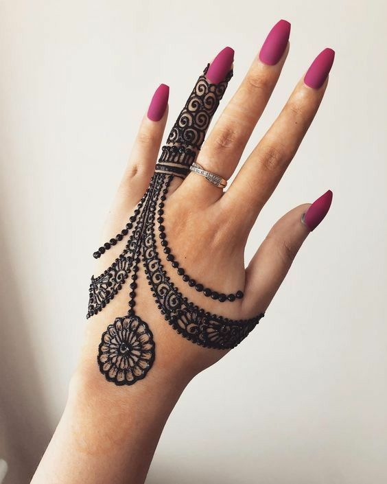 Mehndi Designs Easy And Simple (9)