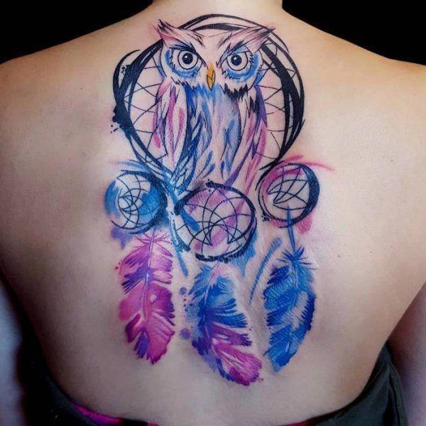 Native American Dreamcatcher Tattoo (1)