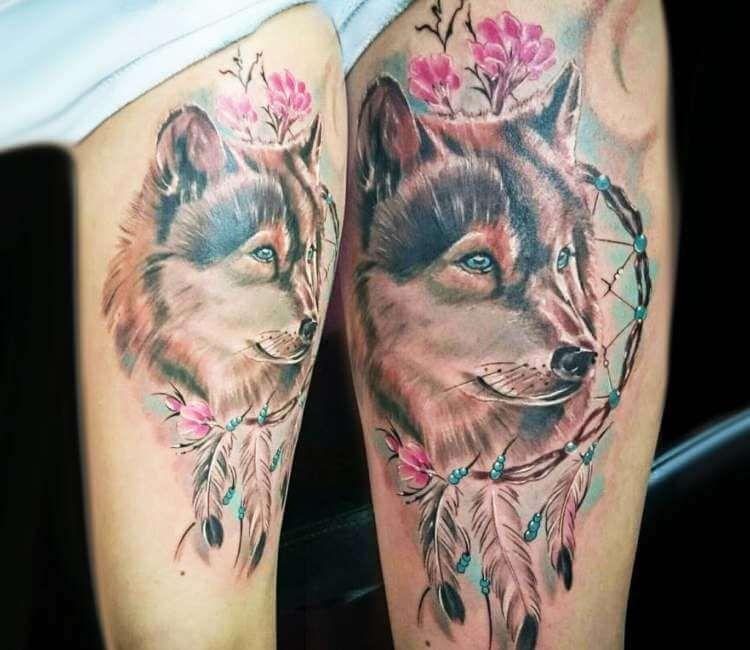 Native American Dreamcatcher Tattoo (10)