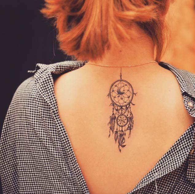 Native American Dreamcatcher Tattoo (8)