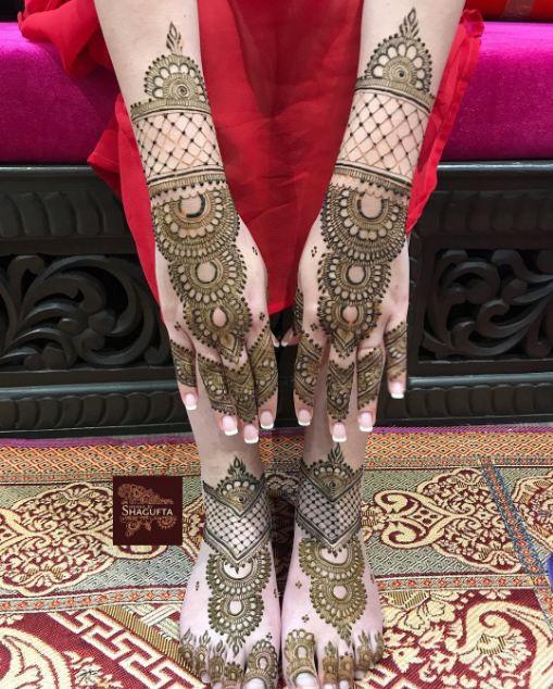 Pakistani Mehndi Designs