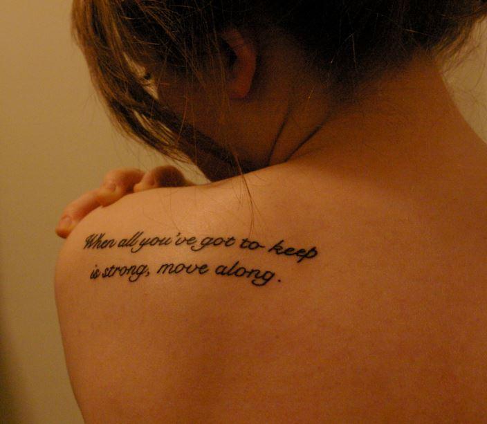 Quote Hip Tattoos Tumblr