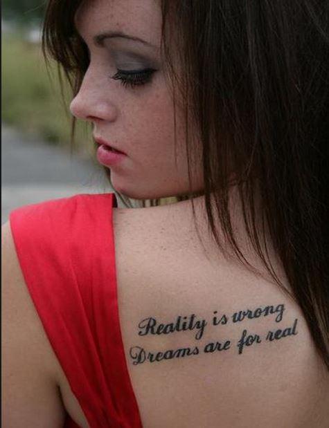 Quote Mom Tattoos