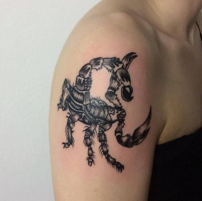 Scorpion Sleeve Tattoos