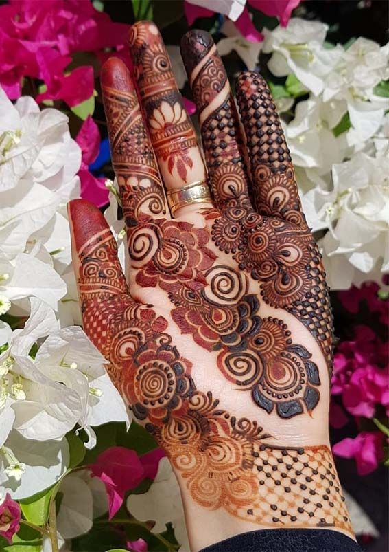 Simple Beautiful Mehndi Designs (3)